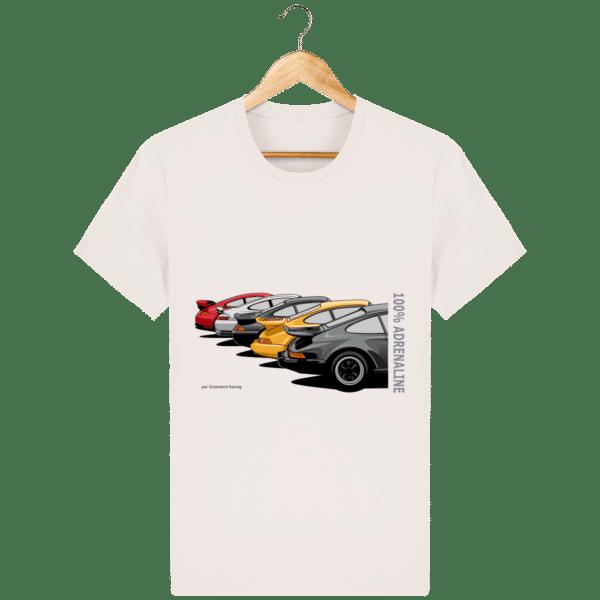 T-shirt PORSCHE CLASSIC coloris 1 - Vintage White - Face