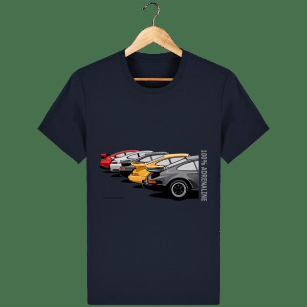 T-shirt PORSCHE CLASSIC coloris 1 - French Navy - Face
